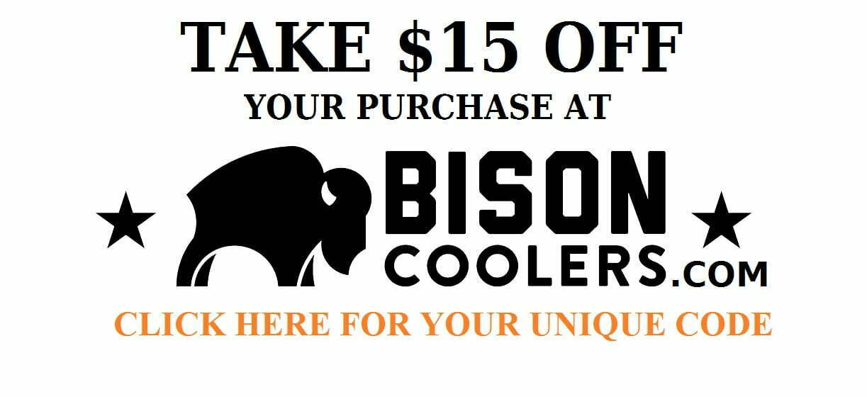 bison coolers discount code