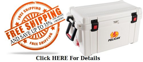 coolers on sale free shipping